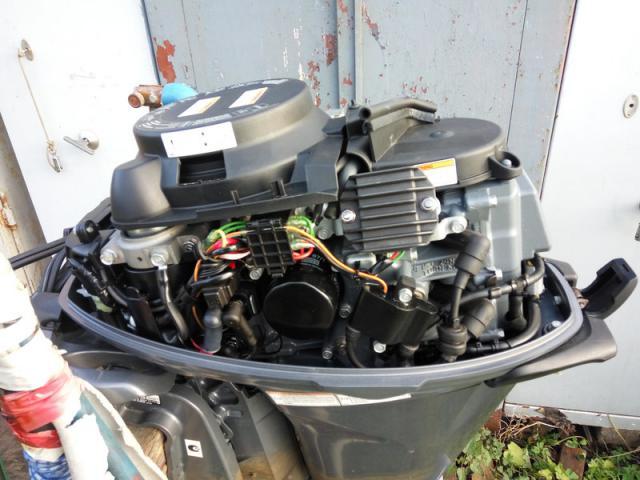 лодочный мотор yamaha f20bes обзор